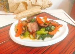 腊肉炒青菜