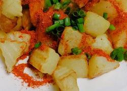 小吃炸土豆