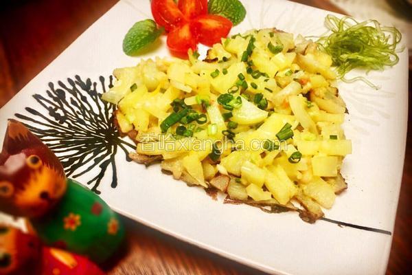 海藻肉沫土豆心