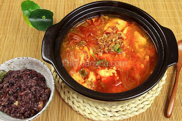 韩式嫩豆腐汤