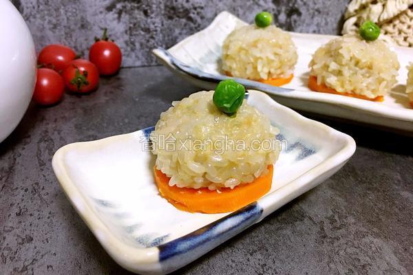 磷蝦豬肉糯米丸
