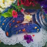 紫蝶花星空面包的做法[图]