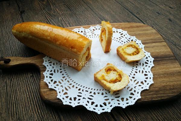 菠萝夹心面包
