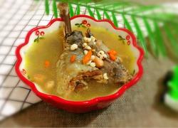 薏米花生炖鸡(美容养颜汤)
