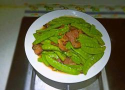 扁豆炒腊肉