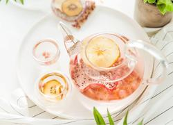 家庭自制养生水果茶