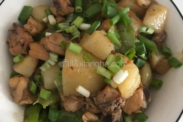 土豆炒鸡腿