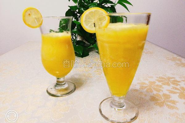 菠萝苹果汁