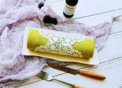 天然色素菠菜蛋糕卷