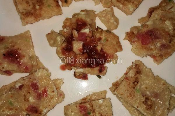 番茄豆腐早餐饼