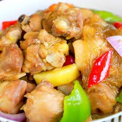 营养又简单的韩式安东炖鸡,绝对的下饭利器