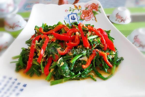下饭菜—红椒炒韭菜