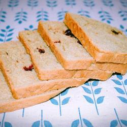 抹茶蔓越莓吐司的做法[图]