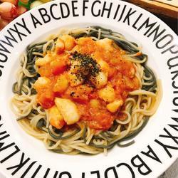 西红柿龙利鱼盖浇面的做法[图]