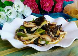 素炒杂菌菇