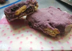 紫薯雪花酥