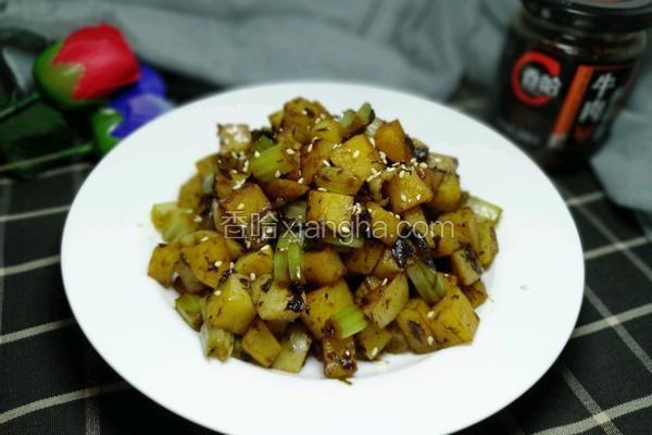 橄榄菜烧土豆