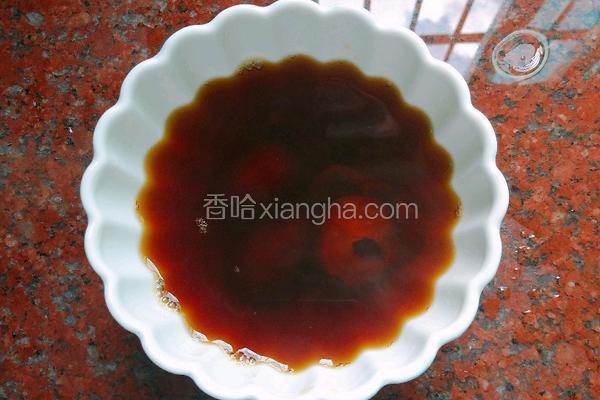 黑糖山楂红枣水