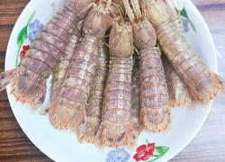 群龙戏珠(清蒸皮皮虾)