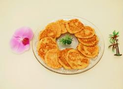 北京特色小吃 胡萝卜土豆煎饼