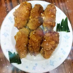 黄山奇石(香酥蒜香鸡翅)