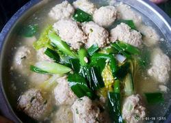 纯手工肉圆子汤