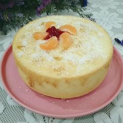 椰蓉蜜橘蛋糕