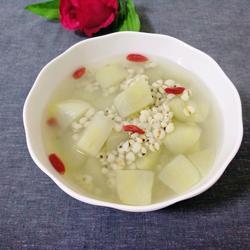 薏米雪莲果汤