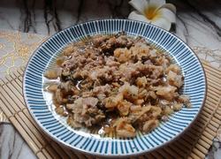 #蒸菜#梅菜蒸肉饼
