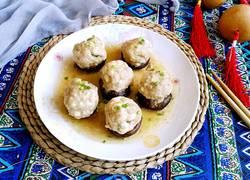 豆腐丸子酿香菇