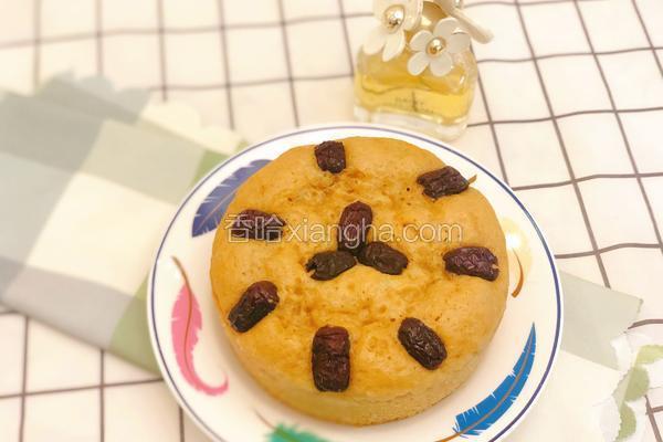 红糖发糕(无泡打粉版)