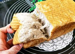 黑芝麻黑米吐司面包