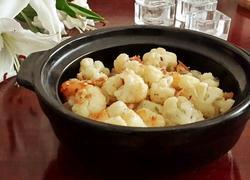 蒜香芝士烤菜花