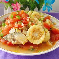 玉米番茄鱼