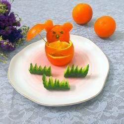 小熊抱抱橙
