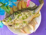 清蒸苹果鱼的做法[图]