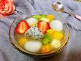 五彩水果小汤圆的做法[图]