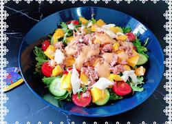 金枪鱼田园蔬果沙拉(低脂版)