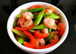 芦笋炒虾仁(减脂餐)
