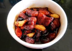 茭白红烧肉(无油版)