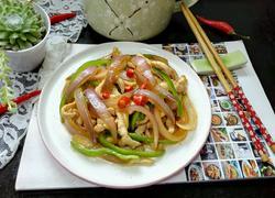 青椒洋葱炒肉丝