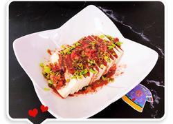 玫瑰腐乳拌豆腐 #夏日清爽轻食菜#