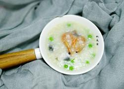 干虾皮蛋砂锅粥