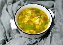 虾米丝瓜蛋汤