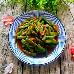 清炒四季豆的做法[图]