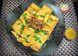 香煎泡嫩笋豆腐