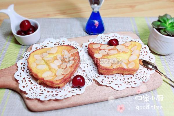 奶油奶酪杏仁蛋糕