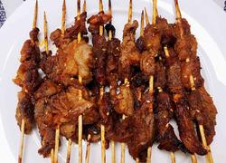 烤箱羊肉串