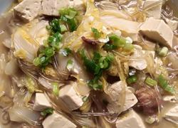 白菜五花肉炖豆腐粉条