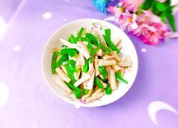 青椒素炒杏鲍菇